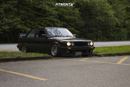 1991 BMW 318is - 15x8 0mm - F1R F05 - Coilovers - 195/50R15