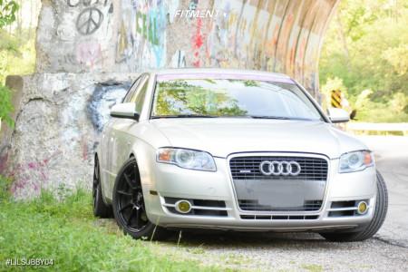 2007 Audi A4 Quattro - 18x8 35mm - Sparco Assetto Gara - Coilovers - 235/40R18