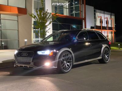 2014 Audi allroad - 20x10 30mm - Verde Empire - Lowering Springs - 285/30R20