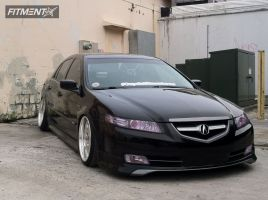 2004 Acura TL - 18x8.5 5mm - Auto Couture Supreme - Lowered Adj Coil Overs - 205/40R18