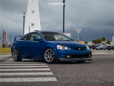 2003 Acura RSX - 17x9 32mm - MB Battle - Coilovers - 225/45R17