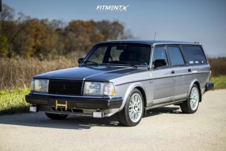 1988 Volvo 245 - 17x7.5 43mm - BBS Propus - Lowering Springs - 225/45R17