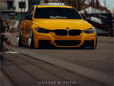 2015 BMW 320i - 19x10 -11mm - Wr Specialfälgar Custom - Air Suspension - 225/35R19