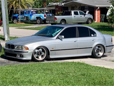 1999 BMW 528i - 17x9 25mm - Remotec Type A - Coilovers - 235/45R17