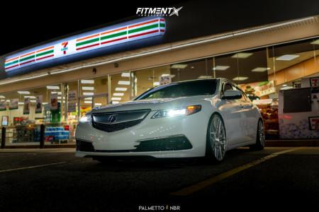 2016 Acura TLX - 20x9 35mm - Rohana Rfx10 - Coilovers - 245/30R20