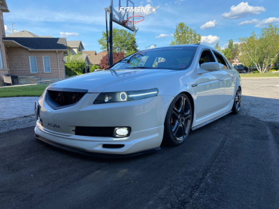 2006 Acura TL - 18x8 45mm - Enkei A-Spec - Coilovers - 225/40R18