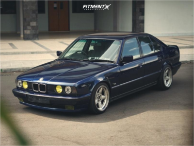 1994 BMW 525i - 17x8.5 13mm - Ac Schnitzer Type 1 - Lowering Springs - 225/45R17
