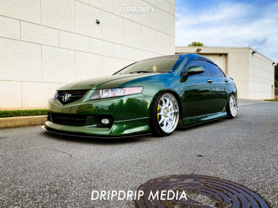 2004 Acura TSX - 18x9.5 43mm - Ssr Sp5 - Coilovers - 225/35R18