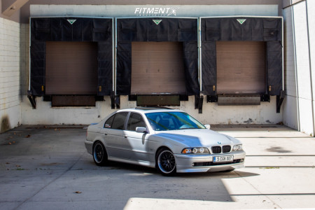 2003 BMW 530i - 17x8 41mm - BBS Style 42 - Coilovers - 235/45R17