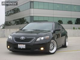 2009 Toyota Camry - 18x8.5 30mm - STR 601 - Lowered Adj Coil Overs - 225/45R18