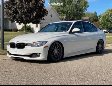 2014 BMW 328i xDrive - 19x8.5 35mm - Rotiform Rse - Coilovers - 235/35R19