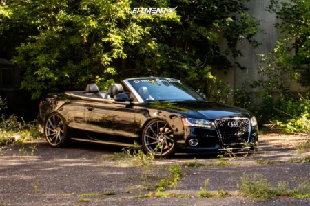 2010 Audi S5 - 20x10 25mm - RSR R701 - Coilovers - 275/30R20