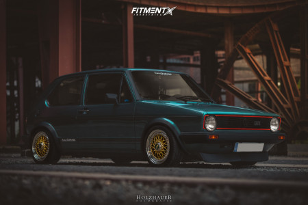 1983 Volkswagen Golf - 15x7 38mm - BBS Rs - Coilovers - 195/45R15