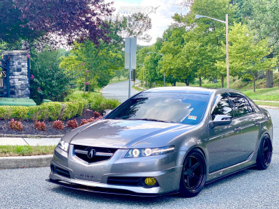 2007 Acura TL - 18x9.5 30mm - Aodhan Ds05 - Coilovers - 235/40R18