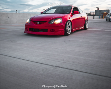 2003 Acura RSX - 18x9 35mm - Kansei Knp - Coilovers - 215/40R18