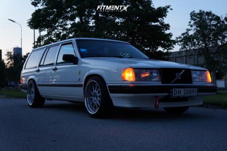 1995 Volvo 940 - 18x9 20mm - OZ Racing Hartge - Lowering Springs - 225/35R18