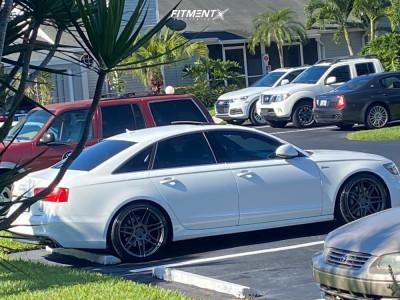 2012 Audi A6 Quattro - 20x10 30mm - Ferrada F8-fr6 - Lowering Springs - 255/35R20
