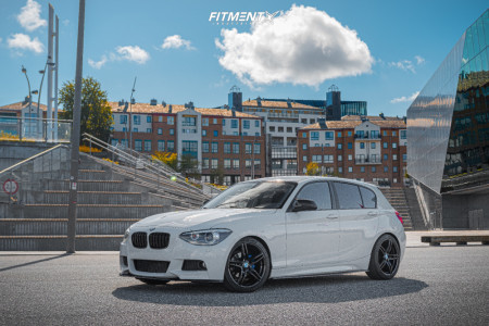 2012 BMW 116D - 18x8 35mm - Monaco Grand Prix - Lowering Springs - 225/40R18