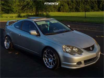 2003 Acura RSX - 18x9.5 22mm - Aodhan DS02 - Coilovers - 215/40R18