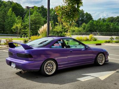 1995 Acura Integra - 16x8 20mm - XXR 531 - Coilovers - 205/45R16