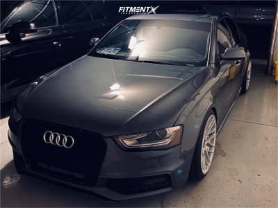 2014 Audi S4 - 19x10 35mm - Rotiform Rse - Coilovers - 255/35R19