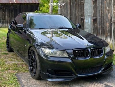 2011 BMW 335d - 19x9.5 35mm - MRR Gf6 - Coilovers - 245/30R19