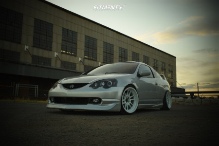 2002 Acura RSX - 18x9.5 10mm - Cosmis Racing XT-206R - Coilovers - 215/35R18