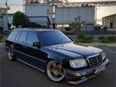 1995 Mercedes-Benz E320 - 18x10 -10mm - Leon Hardiritt Ritters - Air Suspension - 225/40R18