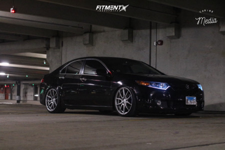 2009 Acura TSX - 20x9 35mm - Fitted F2 - Coilovers - 245/35R20