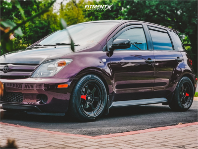 2005 Scion xA - 16x8 20mm - MST Time Attack - Coilovers - 205/50R16