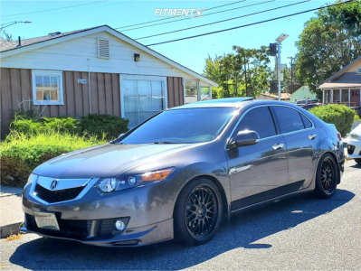 2009 Acura TSX - 19x8.5 30mm - Vors Vr8 - Coilovers - 225/35R19