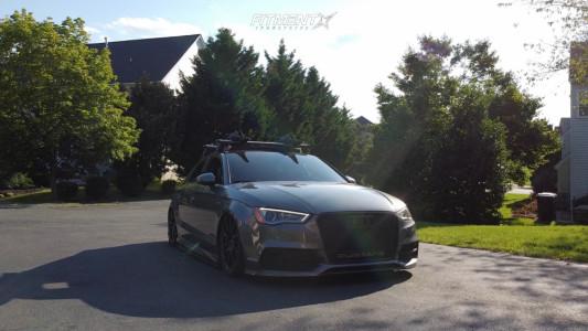 2016 Audi S3 - 19x8 45mm - Neuspeed Rse102 - Air Suspension - 235/35R19