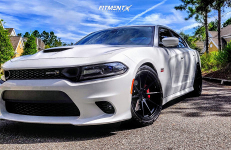2016 Dodge Charger - 20x10 26mm - Vertini Rf1.3 - Stock Suspension - 275/40R20