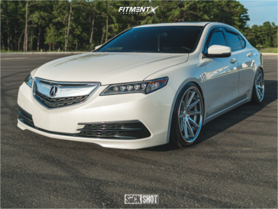2017 Acura TLX - 20x10 40mm - Rohana Rc10 - Coilovers - 235/35R20