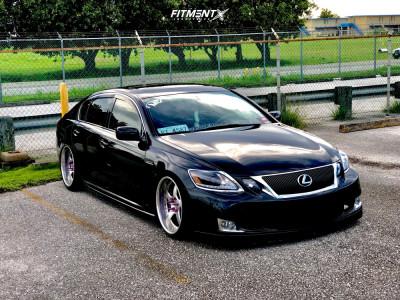2006 Lexus GS430 - 19x10 25mm - Vip Modular Vr15 - Air Suspension - 225/35R19
