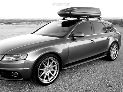 2012 Audi A4 Quattro - 20x9 35mm - Rohana Rc10 - Stock Suspension - 255/35R20