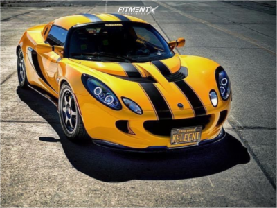 2005 Lotus Elise - 16x6.5 32mm - SSR Type C - Coilovers - 195/50R16