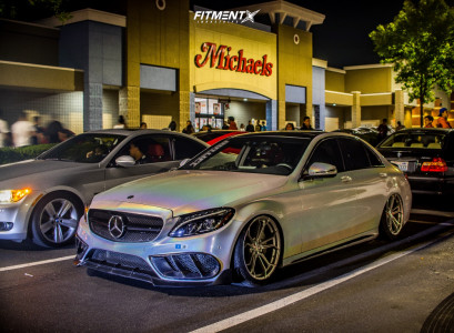 2015 Mercedes-Benz C400 - 19x9.5 31mm - Avant Garde M632 - Air Suspension - 245/45R19