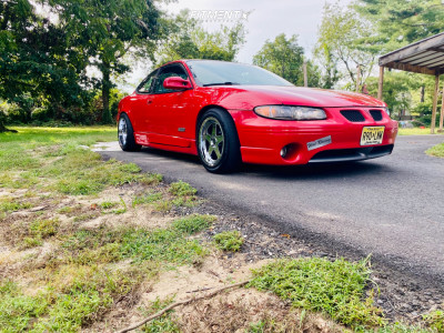 2000 Pontiac Grand Prix - 17x9 24mm - American Muscle Sc Style - Coilovers - 225/50R17