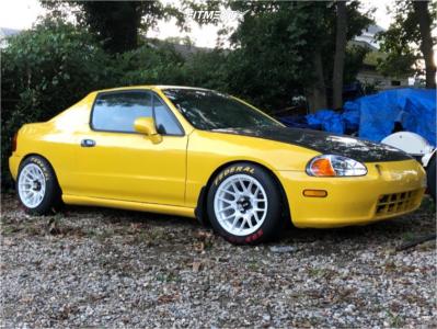 1993 Honda Civic del Sol - 15x8 25mm - XXR 531 - Coilovers - 205/50R15