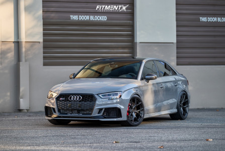 2019 Audi RS3 - 19x9.5 42mm - BC FORGED RZ21 - Coilovers - 265/30R19