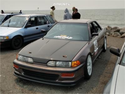 1992 Acura Integra - 16x7 32mm - Enkei Rtc1 - Coilovers - 205/50R16