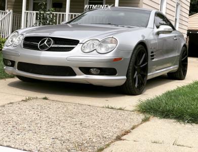 2003 Mercedes-Benz SL55 AMG - 20x8.5 20mm - TSW Clypse - Stock Suspension - 245/30R20