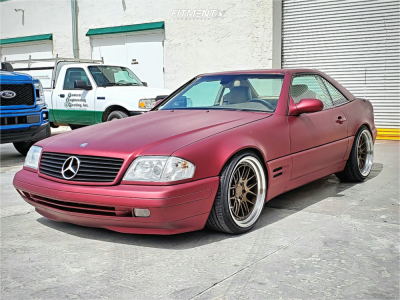 2000 Mercedes-Benz SL500 - 19x9.5 15mm - Aodhan DS06 - Coilovers - 235/35R19
