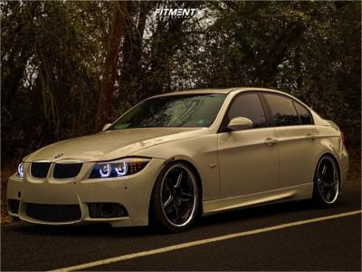 2007 BMW 328i - 18x9 20mm - Vertini Drift - Lowering Springs - 205/35R18