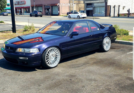 1994 Acura Legend - 20x8.5 45mm - Rotiform Ind-t - Coilovers - 225/35R20
