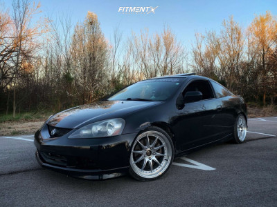 2006 Acura RSX - 18x8.5 35mm - Aodhan Ds07 - Coilovers - 215/35R18