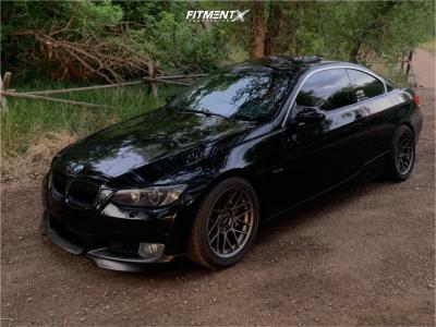 2008 BMW 335xi - 17x9 30mm - Apex Arc-8 - Coilovers - 255/40R17