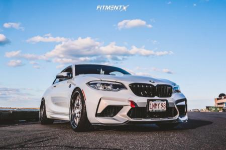 2020 BMW M2 - 20x9.5 23mm - BBS Lmr - Lowering Springs - 255/30R20