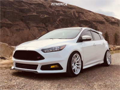 2018 Ford ST - 18x9.5 35mm - Vors Tr4 - Coilovers - 235/40R18